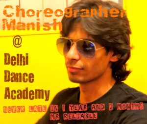 Manish Saini - Delhi Dance Academy