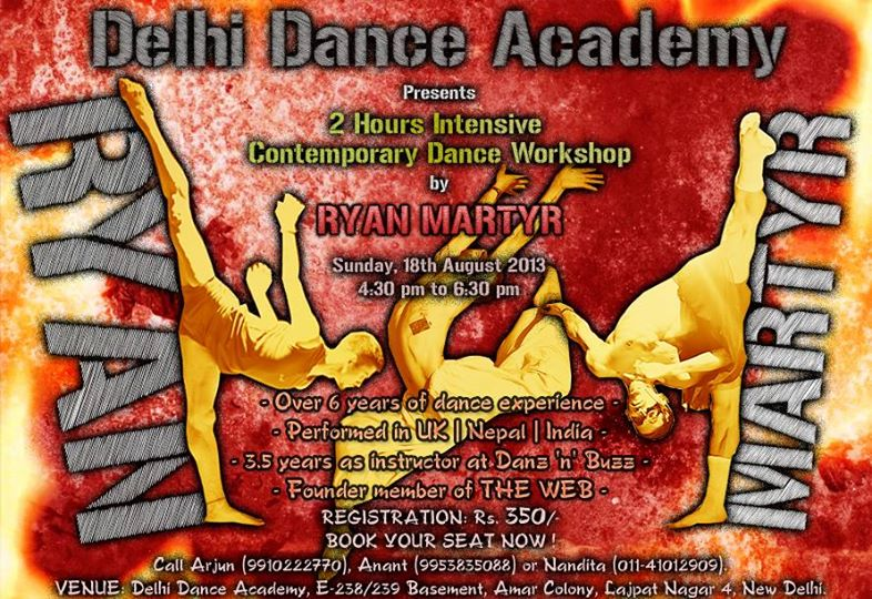 Dance Workshops By International And Indian Professionals