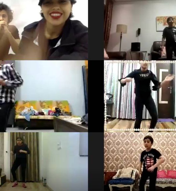 kids dance classes on zoom